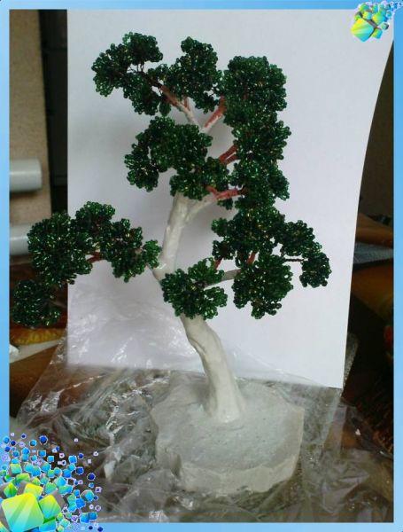 Для того, чтобы придать Дереву бонсай текстуры после просушки, нужно